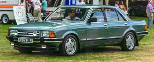FDLCVS-357-GC-2018-1986 FORD GRANADA GHIA IX AUTO
