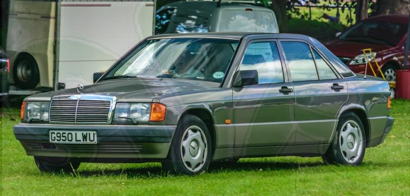 FDLCVS-014-GC-2019-1990 MERCEDES 190E AUTO