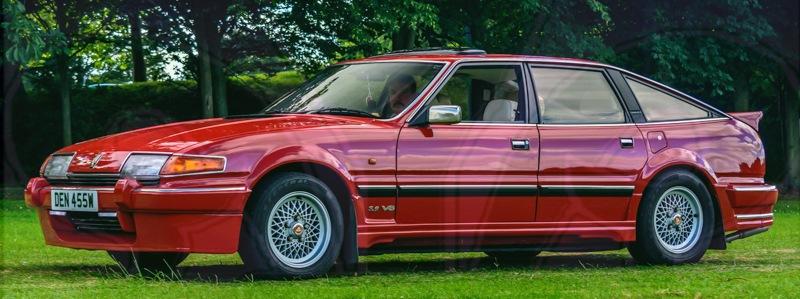 FDLCVS-239-GC-2019-1986 ROVER 2600 VANDEN PLAS AUTO