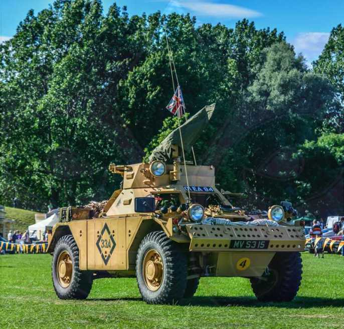 FDLCVS-423-GC-2019-1952 DAIMLER FERRET ARMOURED CAR