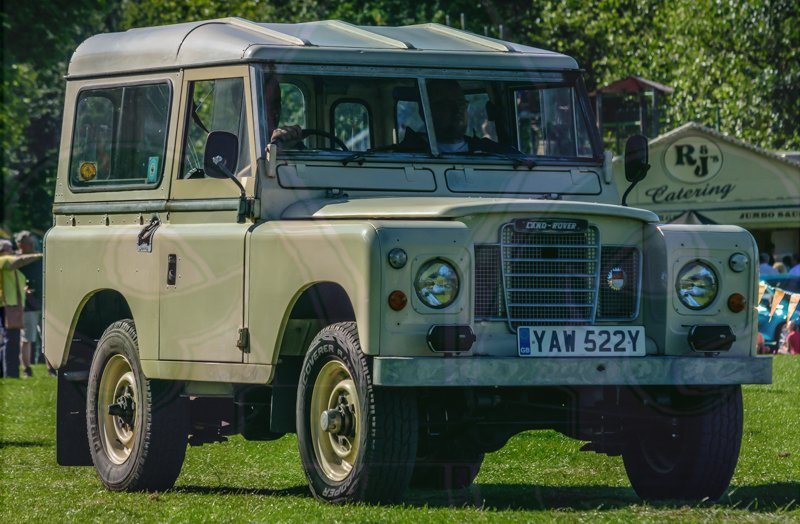 FDLCVS-435-GC-2019-1982 LAND ROVER 88- - 4 CYL